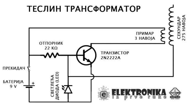 teslin-transformator-9v