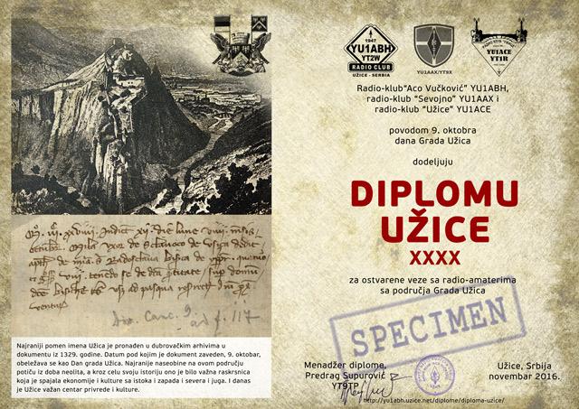 Diploma Užice